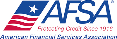 American Financial Services Association logo with American flag